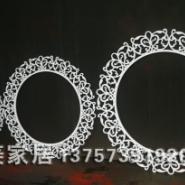 CY171/婚庆道具/背景花环图片