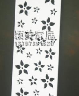 雕花板PVC镂空板通花板隔断屏图片
