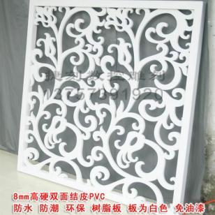 CY67/PVC雕花板隔断背景墙图片