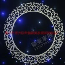 供应PVC婚庆道具批发新款热销圆满花环圆环