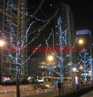 供应LED圣诞灯串led节日灯串圣诞星星灯串
