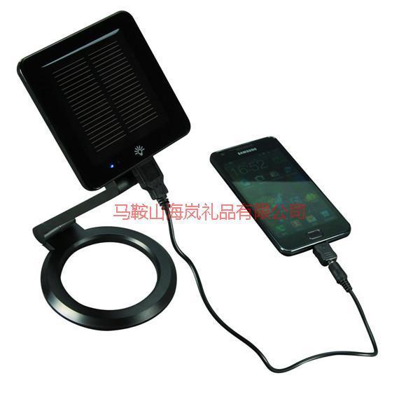 供应太阳能移动电源LED台灯图片