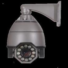 供应广西南宁高清红外智能高速球型网络摄像机IP百万高清网络监控系统图片