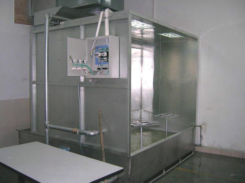 喷漆房图片|喷漆房样板图|苏州喷漆房-伟鼎机械设备