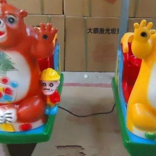 熊大摇摇机投币机图片