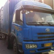 解放厢式货车9.6米二手货车图片
