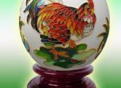 供应大吉大利鸵鸟蛋雕,送礼收藏佳品,可定制