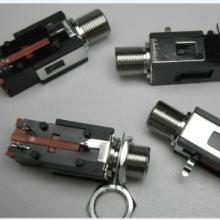 供应6.35mm耳机插座,耳机插座,铜头耳机插座