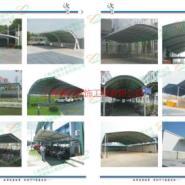 上海汽车停车棚图片