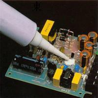 供应快速粘接电脑电源导热灌封胶聚力多种颜色电子硅胶胶水