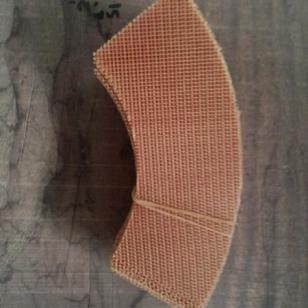 批发耐高温纤维铸铝过滤网图片