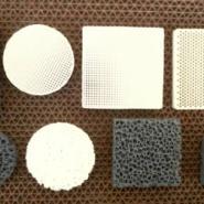标准耐高温纤维铸造过滤网图片