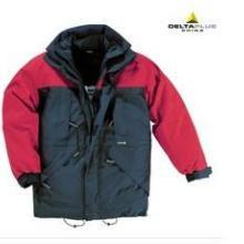 代尔塔保暖可脱卸防寒服男冬季多口袋防寒工作服加厚-20度405321批发