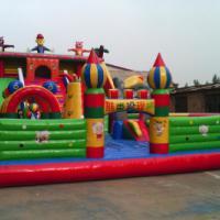 河北保定游乐设备,保定儿童充气玩具,艺祥充气城堡价格,气模生产厂家