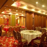 江山酒店宴会厅移动隔断包厢折叠门