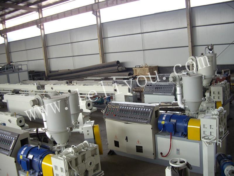PB管材设备挤出生产线PB管生产线供暖管生产设备销售电话,pb管设备供应商