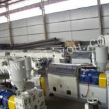 供应乐力友PB管设备挤出生产线报价,pb管材生产设备供应商,pb地暖管生产线销售