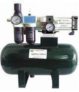 气体增压泵+储气罐图片