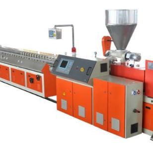 江苏塑料型材生产线厂家直销图片