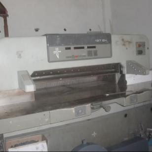 波拉polar1370电脑切纸机图片