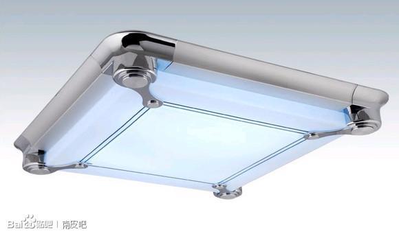 经典老款 5862 高档led铝材亚克力平板灯 节能省电高清图片