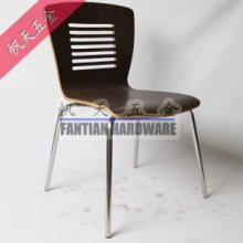 供应深圳各种木纹曲木餐椅,帆天家具五金制造餐厅家具