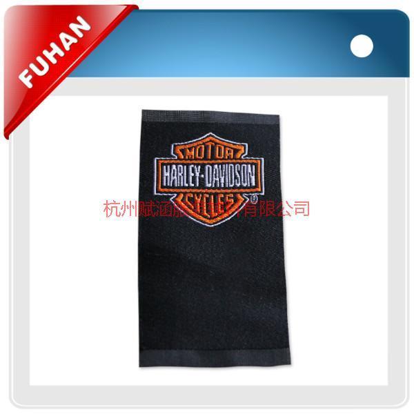 供应服装织唛供应商 服装哛唛供应商电话 勾边服装织唛