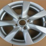 15寸日产新阳光铝合金轮毂 带日产轮毂盖螺母 汽车钢圈 轿车胎铃