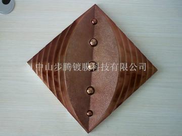 供应特色装饰板/室内装饰材料/真空电镀树脂饰品
