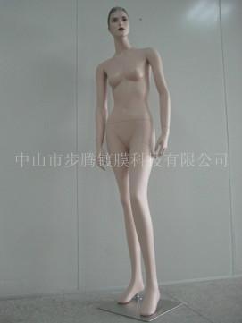供应抽象头女模特/全身站式女模特/电镀玻璃钢模特
