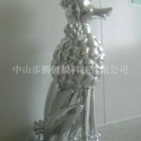 供应室内装饰富贵狗动物树脂工艺品/电镀加工树脂工艺品