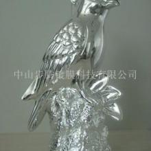 供应鹦鹉树脂工艺品/动物树脂工艺品/电镀加工树脂工艺品