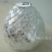 专业电镀银树脂灯配工艺品图片