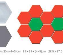 让你放心的各种彩砖模具护坡模具  保定永久塑料模具经济适用 批发