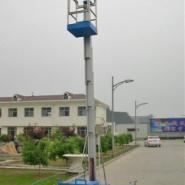 供应单桅柱铝合金式升降平台升高6米