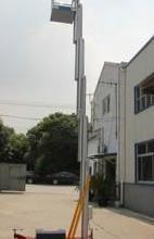 供应单桅柱铝合金升降平台6米批发