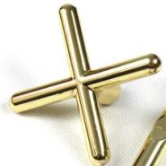 供应斯诺克美式台球杆架铜十字架杆头