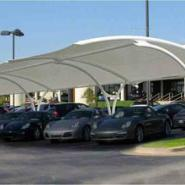 汽车停车棚膜结构雨棚图片