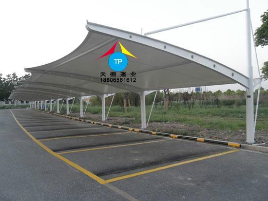 供应抚州膜结构车棚 新余电动车棚 宜春客车停车棚