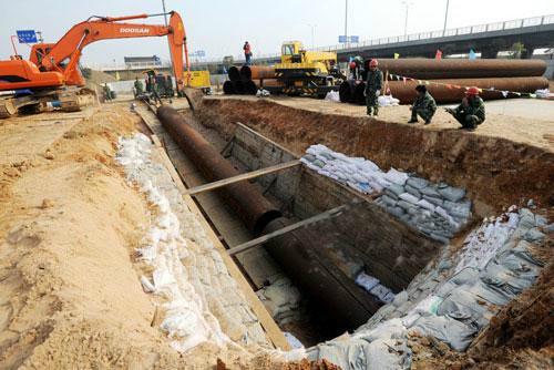 礼泉县首选胜越非开挖专业施工,非开挖施工,顶管工程