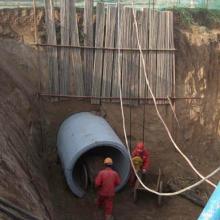 供应甘肃酒泉市敦煌市非开挖顶管施工,人工水泥顶管,非开挖报价