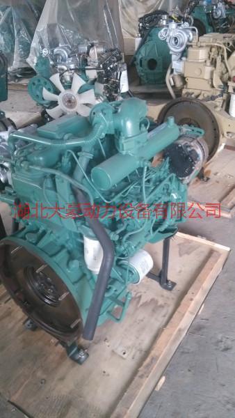 供应一汽锡柴4110收割机用发动机总成图片