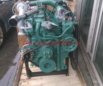 供应锡柴4DF3-13E3,一汽锡柴4110增压中冷发动机图片