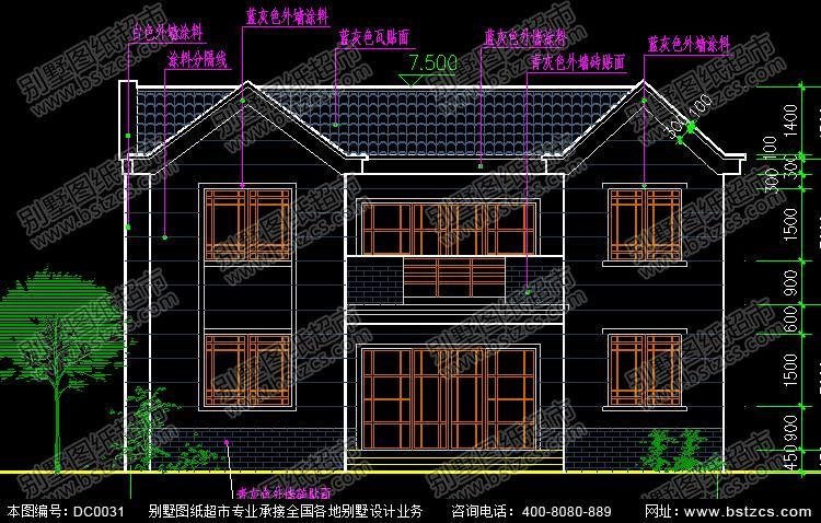 新农村自建房设计图及造价