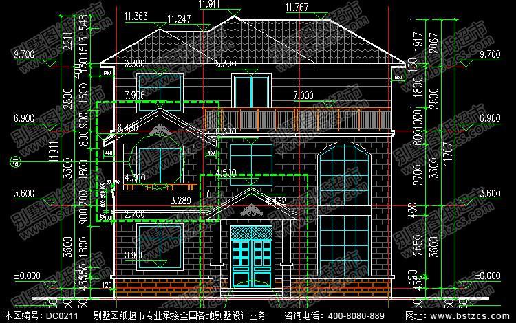 二层别墅 三层以上别墅图片