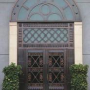 别墅对开铜门图片
